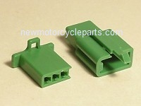 Hitachi Style 3 Prong Green Mini Block Plug