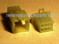 Hitachi Style 6 Prong Opaque Mini Block Plug