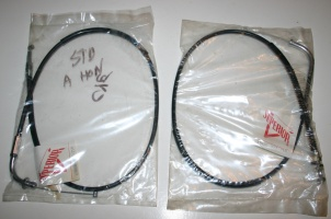 CB400F Throttle Cables
