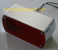 Cast rectangular Tail Light