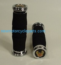 Econ Chrome End Foam Grips