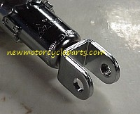 Chrome Clevis Mount Short Shock