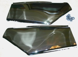 GL1500 Chrome Side Covers