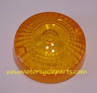 Smaller Round Early Suzuki GS Signal lens