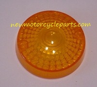 Larger Round Early Suzuki Signal Lens