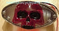 Cat Eye with Skull Lens Tail Light
