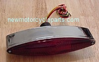Thin Cat Eye tail Light